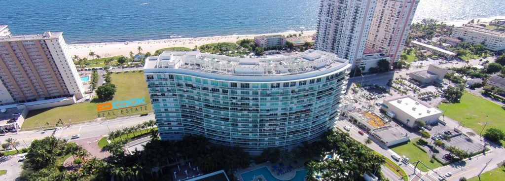 luxury condos in Pompano Beach - Plaza at Oceanside