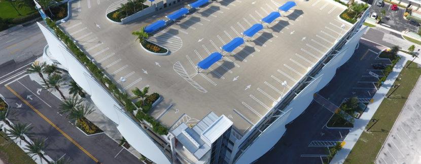 Pompano Beach Parking garage