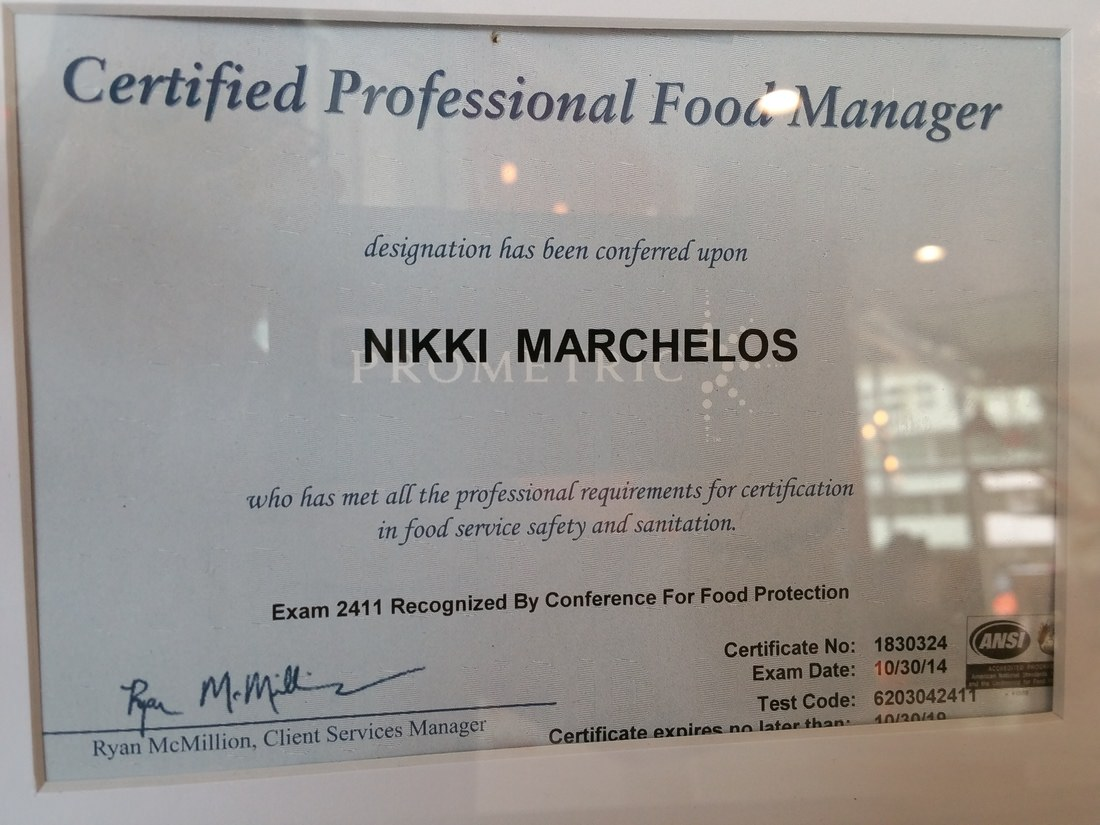 Certified professional food manager recipes food source nkkis organic kitchen nikki marchelos 1betcityfo Gallery