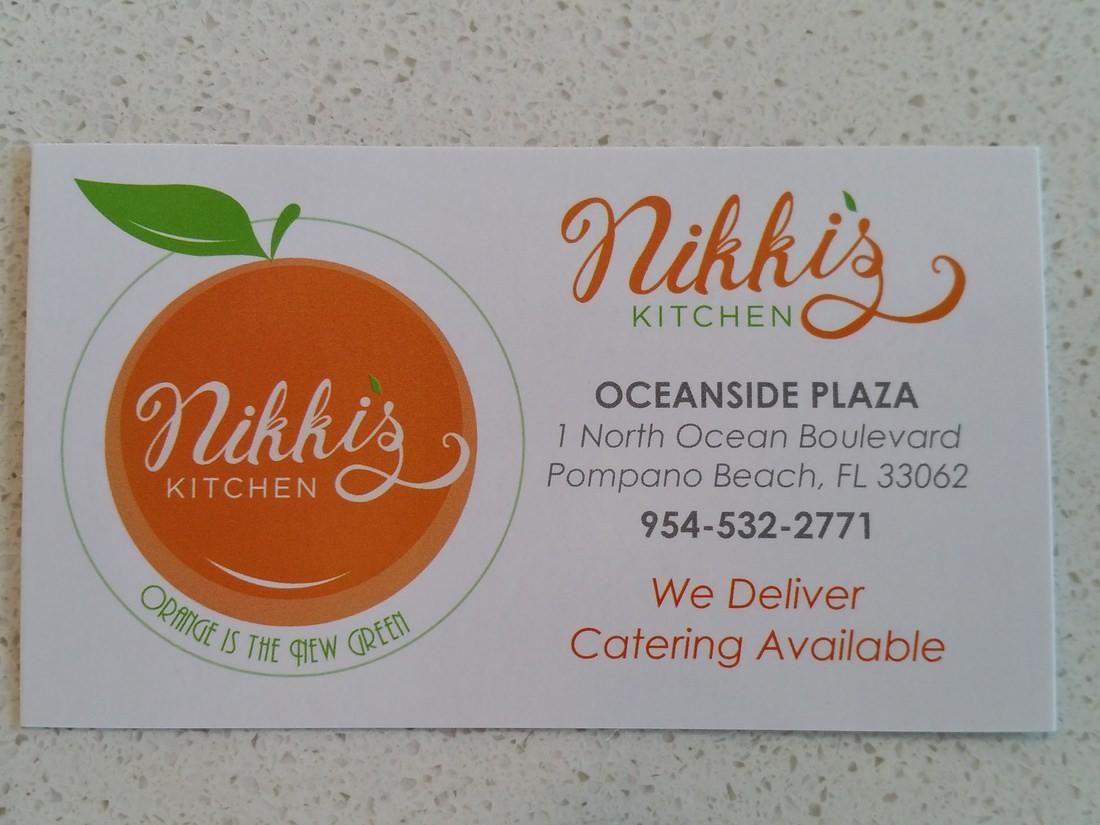 Nikki Orange Kitchen Menu