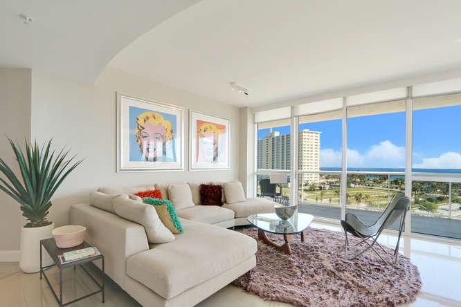 1 N Ocean Blvd Unit 501-small-002-14-Living Room-666x444-72dpi