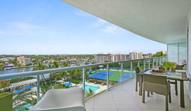 1 N Ocean Blvd Unit 711-small-017-18-Balcony-666x445-72dpi