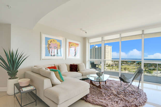 1 N Ocean Blvd Unit 501-small-002-14-Living Room-666x444-72dpi