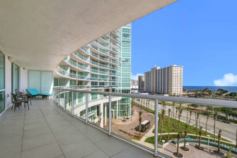 1 N Ocean Blvd Unit 501-small-017-18-Balcony-666x444-72dpi