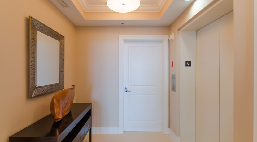 Ed Condo Elevator Entrance HDR