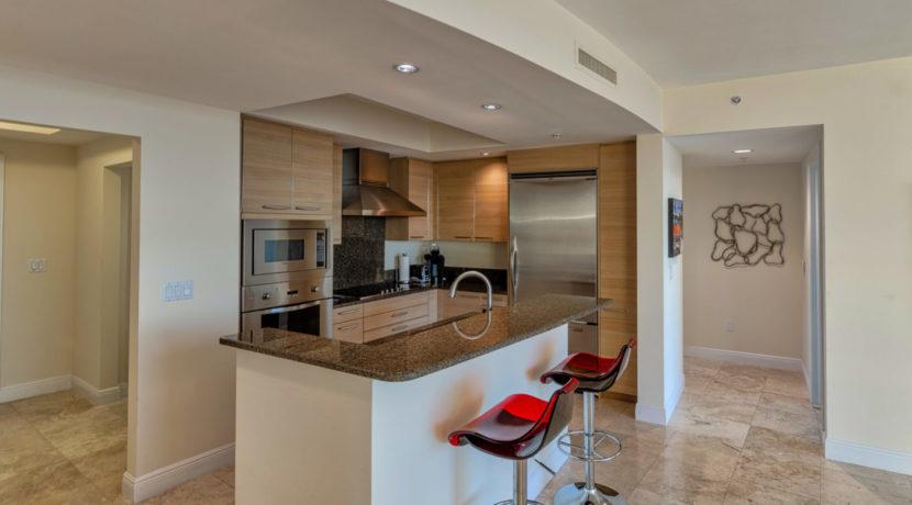 2 BR Condo Kitchen HDR