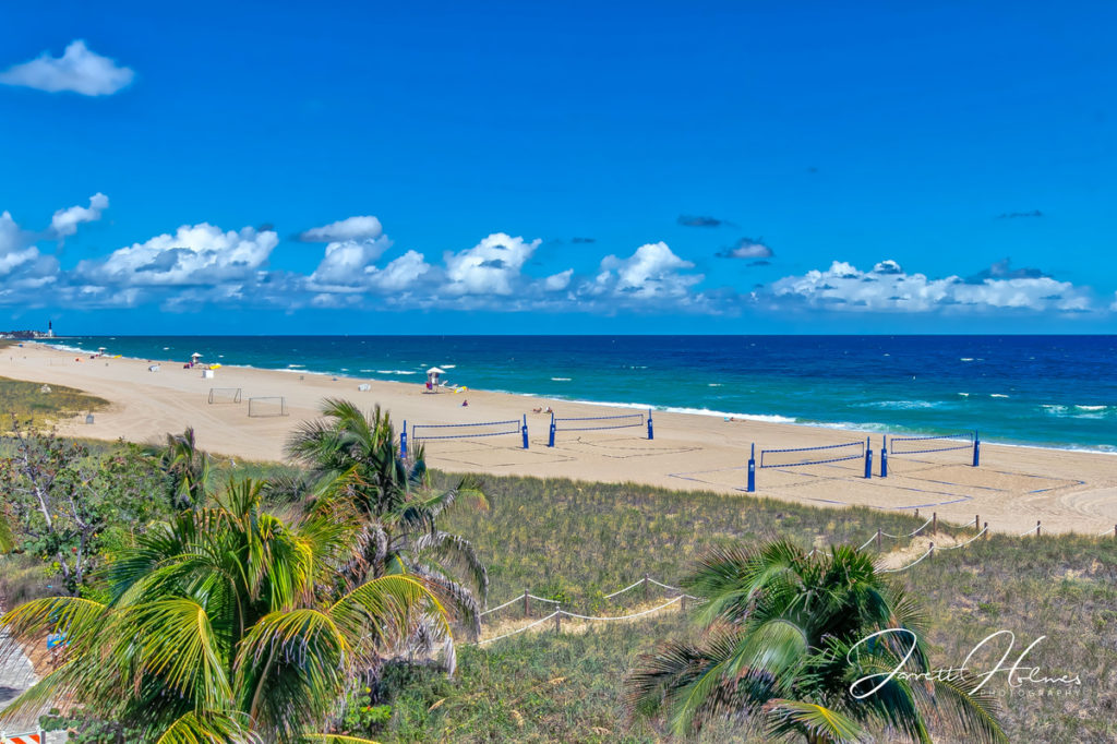 Pompano Beach and Lighthouse HDR