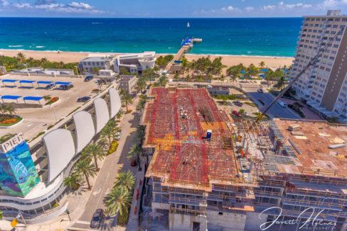 Pompano Pier New Hilton HDR