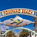 Pompano Beach Pier Sign